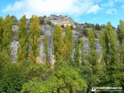 Hoces del Río Duratón - Sepúlveda;alpinismo treking rutas y excursiones mapas de madrid